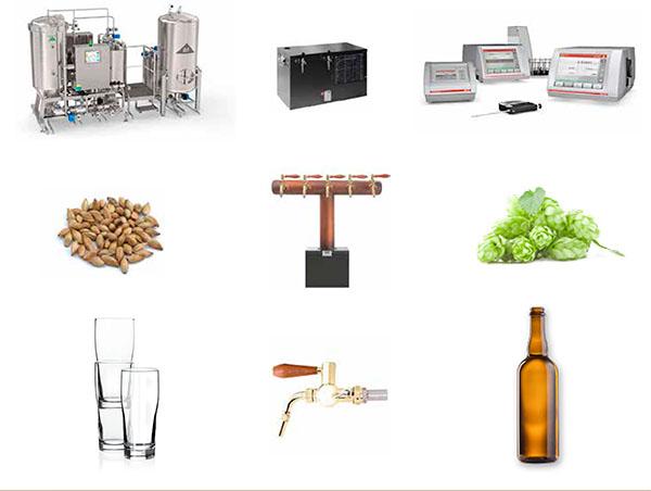 přehled exponátů pivovarské výstavy