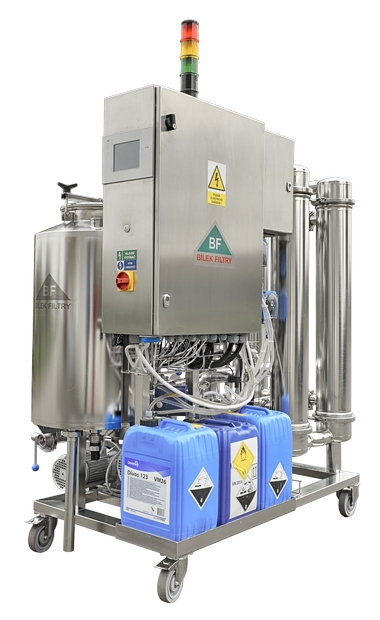 crossflow filtr na víno FCW40A