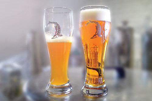 pivo před a po filtraci