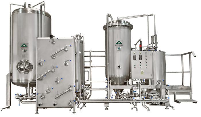 křemelinový filtr na pivo
