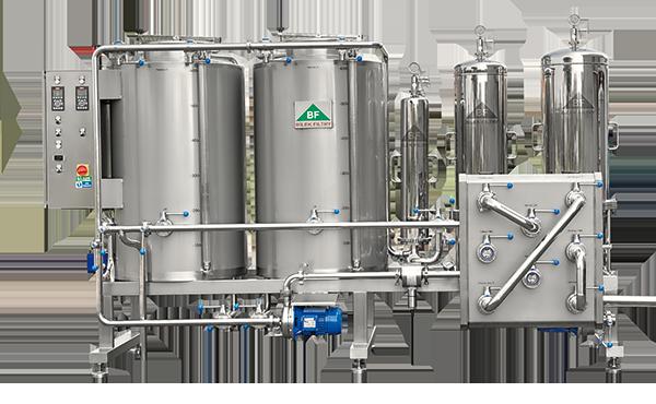 mikrofiltrace pro koncovou filtraci piva - studenou stabilizaci piva