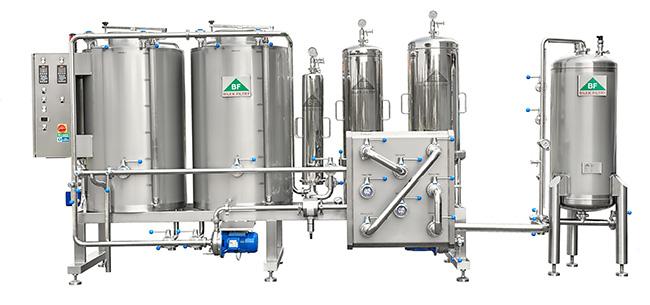 микрофильтрация пива-холодная стабилизация  пива