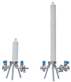 Вид на housing(корпус) без верхней крышки, с установленной фильтр. свечей (cartridge)