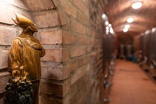 Kvelbený sklep vinařství Konenčný