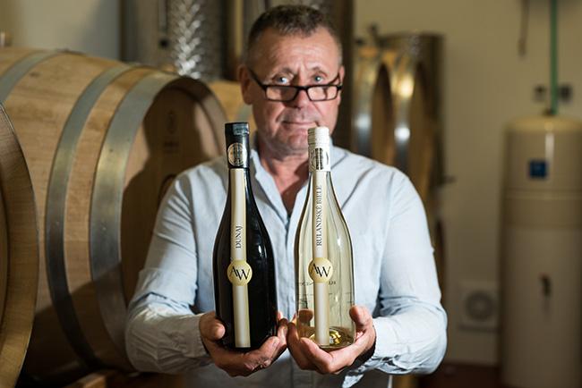 Právě tato 2 vína byla v Paříži oceněna stříbrnými medailemi