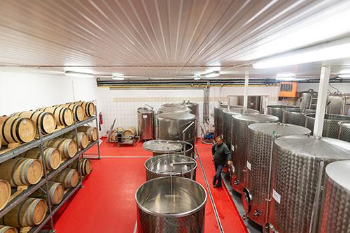 sklep vinařství Vajbar