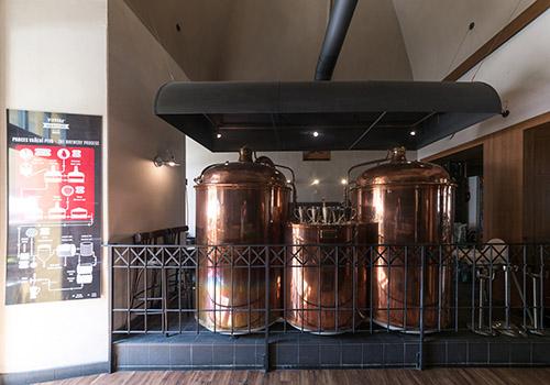 Варочная установка пивоварни Národní, Народный проспект, Прага