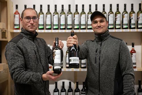 vinotéka ve vinařství Šabata
